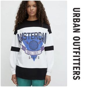 Urban Outfitters Amsterdam Sporty Long Sleeve Tee